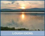 Lough Derg near Lacken Lodge B&B