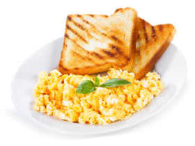 vegetarian scrambled eggs